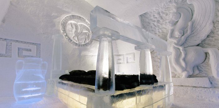 Quebec City's Ice Hotel